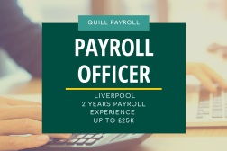 New payroll officer vacancy