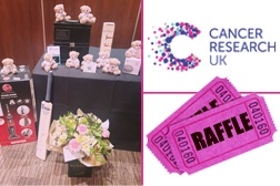 AGM fundraising for Cancer Research UK
