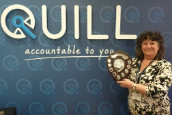 Lynda Rostron awarded employee of the year